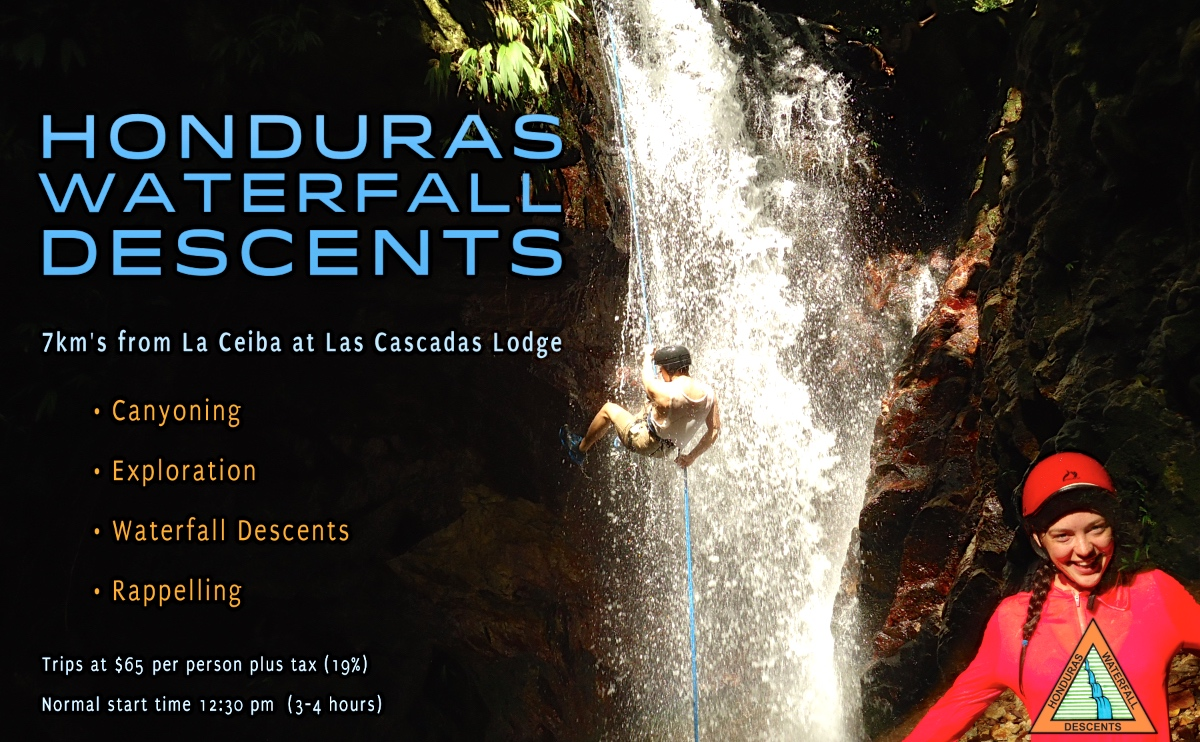Canyoning, trekking, exploration and rappelling down waterfalls